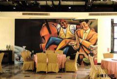 欧式客厅壁画1