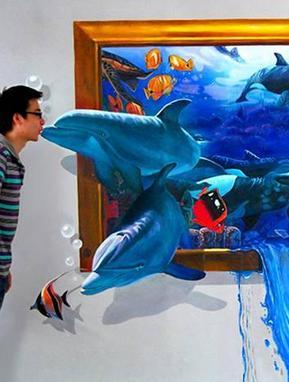 余姚创艺手绘墙3d艺术画工作室