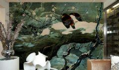 余姚地区别墅手绘壁画2