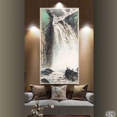 国画软装设计2瀑布流
