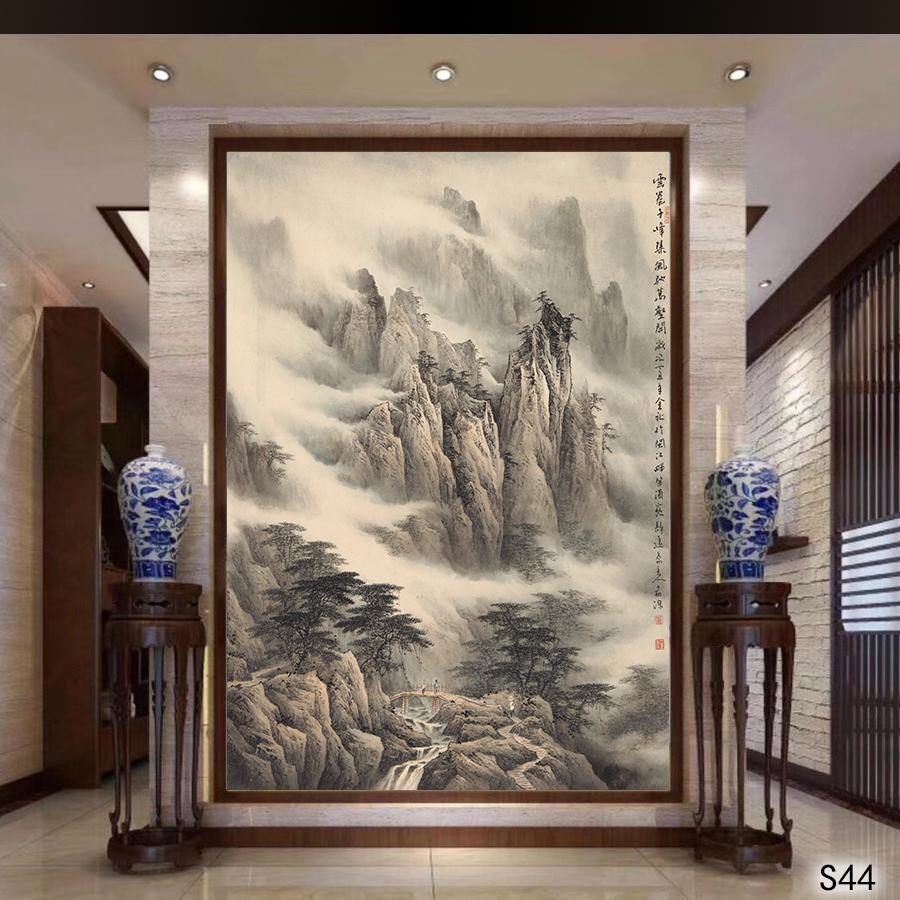 s (44) - 名家国画 - 余姚古风画廊手绘墙绘3d壁画