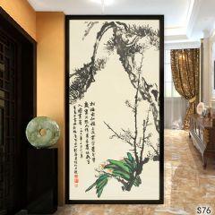 余姚慈溪手绘墙绘画廊软装S (76)